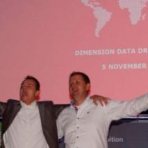Muzikaal intermezzo door Cabaretier Patrick Spekman tijdens Dimension Data draait doorrrb